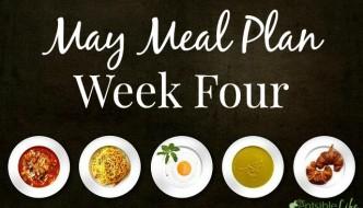 May Meal Plan week four