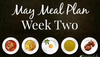 May Meal Plan: Week Two