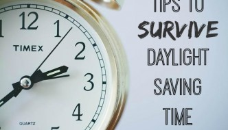 Tips to Survive Daylight Saving Time