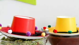 Cinco de Mayo: Sombrero Craft | via thecentsiblelife.com