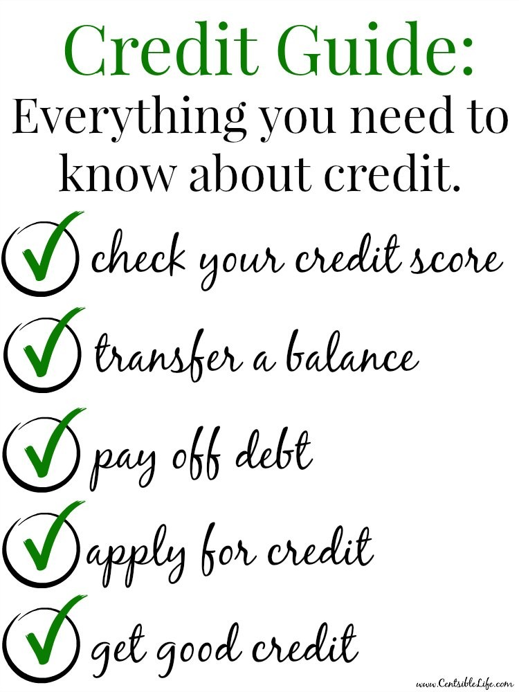 Credit Guide Everything you need to know about credit.