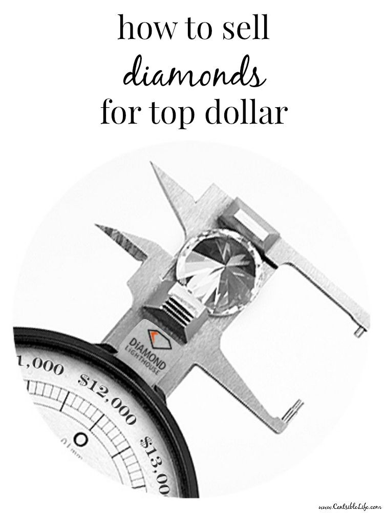 how to sell diamonds for top dollar