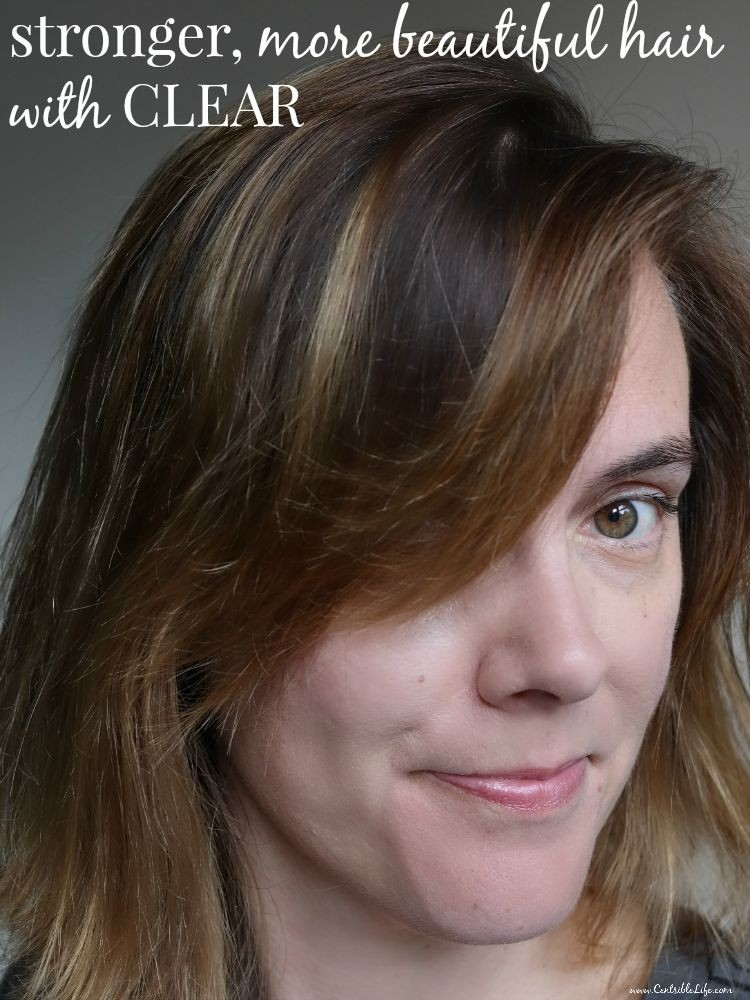 stronger, more beautiful hair with CLEAR