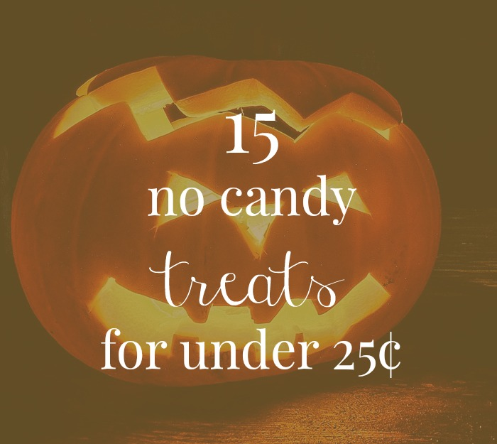 15 no candy treats for under 25¢