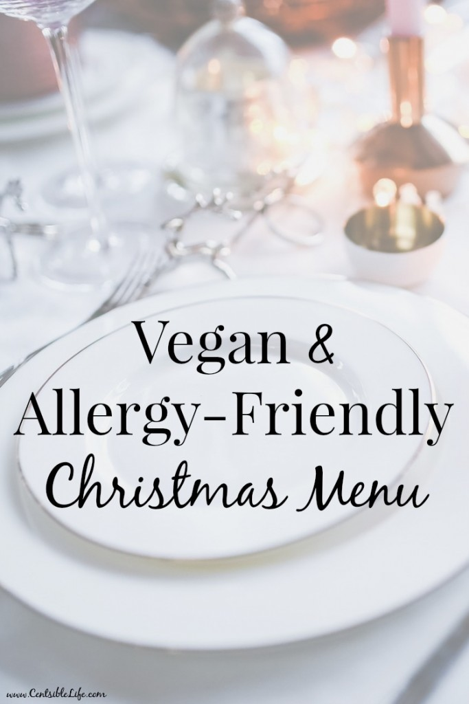 Vegan + Allergy-Friendly Christmas Menu