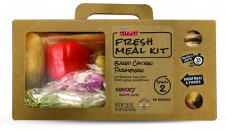 GIANT's Fresh Meal Kits